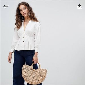 NWT free people blouse